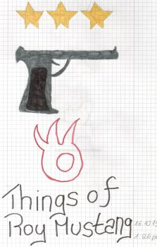 Things of Roy Mustang by ZanetaChristine