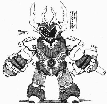 Changeling-Zord by Kainsword-Kaijin