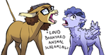 We ain't nothin' but mammals by Lopoddity