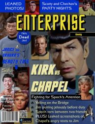 Star Trek Magazine by corazongirl