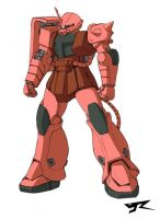 MS-06S Char's Zaku II Ve.R by Rekkou