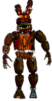 Jack o bonnie front veiw full body request by JoltGametravel