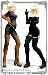 [MMD] These boots are made for... DOWNLOADING by Riveda1972