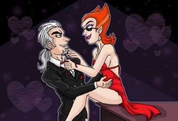 Vlad x Spectra out date night by kaitlynrager