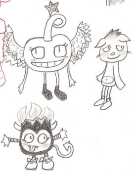 Moshi Monsters Doodle by ChicoMarx