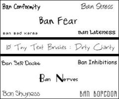 Text - Ban by DirtyCharity