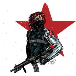 Travis Ingram Art winter soldier 050516 by zerogenius
