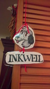 Inkwell | BADGE GIFT by Ravenhoof