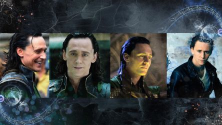 Loki/Tom Hiddleston wallpaper #2 by KuraiNight