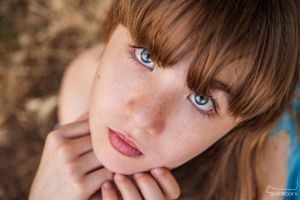Blue eyes by psilocybica
