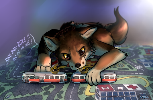 Tram troubles by Rodney5