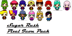 Sugar Rush Pixel Icon Pack by pizza-palace