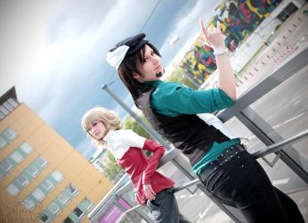 Tiger and Bunny II by MisakisPhotographs