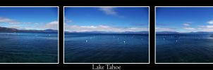 Lake Tahoe Tripple Panorama by RyanRadical