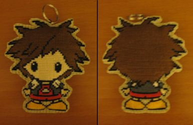 Sora Cross-stitching by Cherdafred