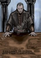 Stannis Baratheon by mrinal-rai