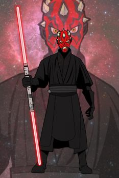 Darth Maul by GordZee
