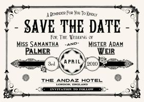 Save The Date by peterbowen