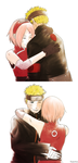NaruSaku - Just hold me by Kaschra