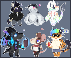 Assorted Adopts 02 [CLOSED] by catdoq