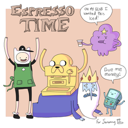 Espresso Time by Christy-off