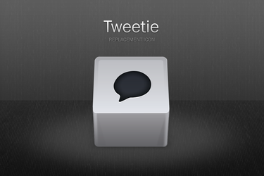 Tweetie replacement icon by benedik