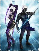 Drow Guardians by Cyzra