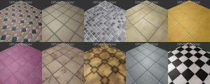 Tile Texture Pack by Betelgeuze01