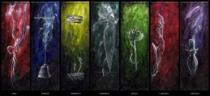 7 Deadly Sins by Anacorreal