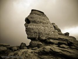 The Sphinx - My Own Version by alexandru-r-ghinea