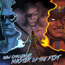 Master of the Fist EP Cover by WilWhalen