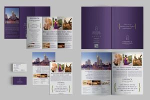 Set of Brochures / Stationery 01 by andre2886