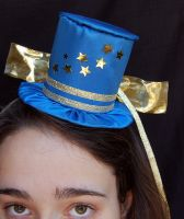 Tiny Top Hat: Blue Twinkle by TinyTopHats