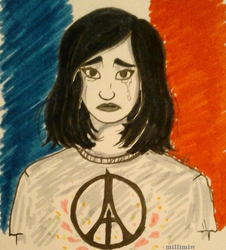 Paris Attacks by Millimiw