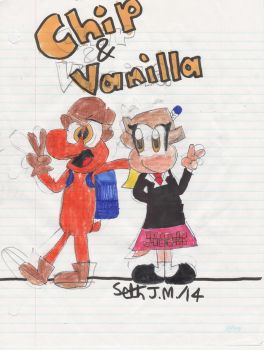 [REQUEST] Chip And Vanilla by UltimateStudios