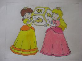 Princess Peach and Princess Daisy : BFFs for life by Mario9919