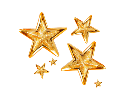 gold stars png by Melissa-tm