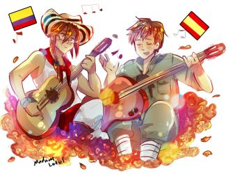 APH Spain and Colombia by Madam-Lotus