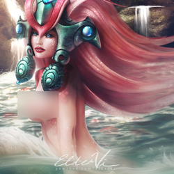 LoL Nami NSFW by Eldervi