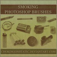 smoking brushes by chokingonstatic