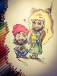 JARED and TOMO in COMICSTYLE by SUSI-the-FUZZYHEAD