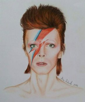 David Bowie by AlinePistorello