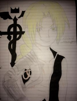 Edward FullMetal Alchemist  by epicbubble7