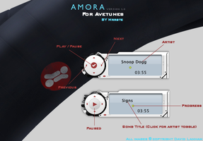 Amora for Avetunes by mrrste