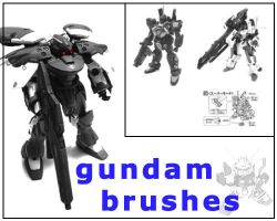 GundamBrushes01 by basicshift