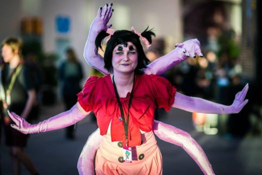 Muffet Undertale Cosplay by SirenCosplay
