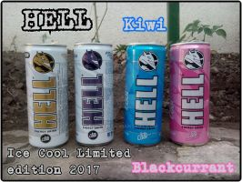 HELL Ice Cool Limited edition Collection 2017 by farek18