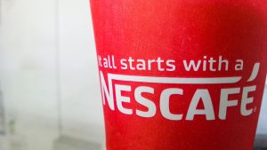 It all starts with a Nescafe by truekasun