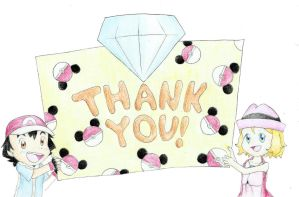 Request - Thank You Card by MijumewAndCo
