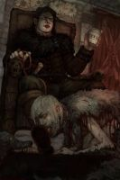 Ramsay with his pet by GibiLynx